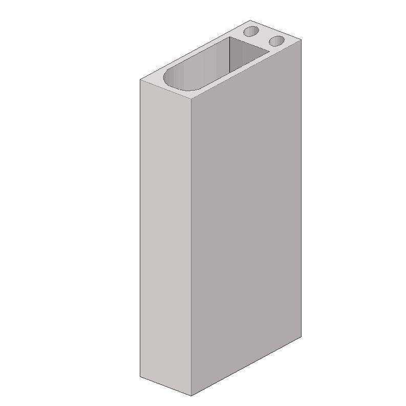Вентиляционные блоки (вентблоки) железобетонные монолитные