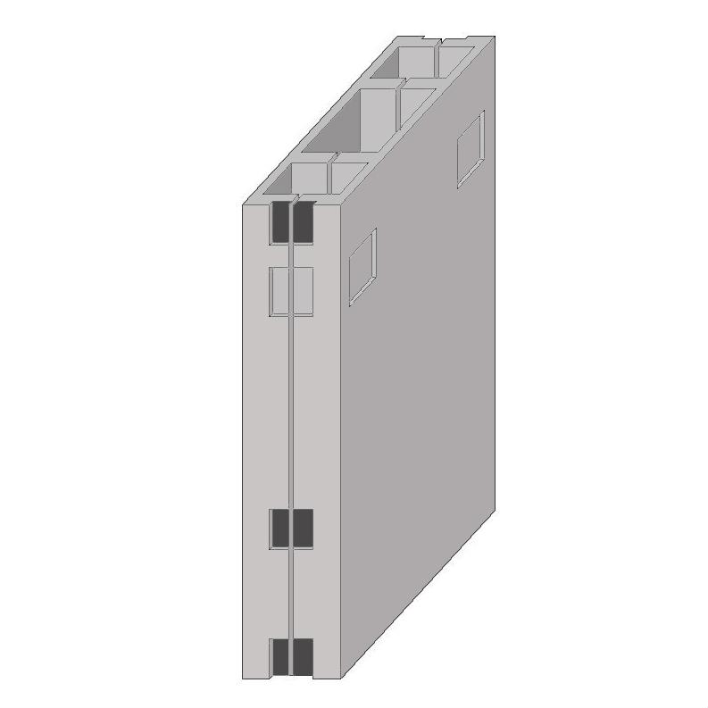 Вентиляционные блоки (вентблоки) железобетонные сборные